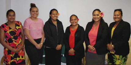 "Members from SAI Samoa who completed the ""Auditing Water Issues"" online course."