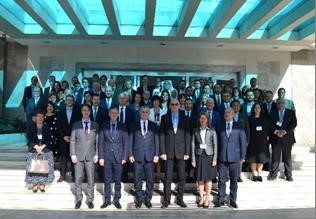Group photo from the 15th EUROSAI WGEA Annual Meeting